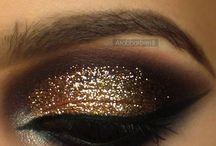 make-up oczy