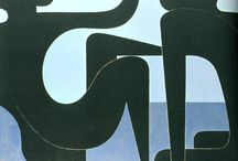 Greek artist=Γιαννης Μοραλης (Yiannis moralis 1916- 2009)-K.Parthenis (1878-1967)