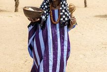 african nomad woman