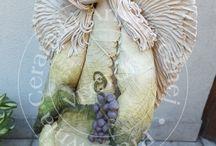 Anioły/Angels / Anioły ceramiczne