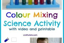 COLOURS and MIXING COLOURS