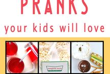 April Fools for Kids / Fun tricks and pranks for the kids this April Fools Day!