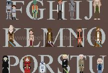 Starwars cross stitch / hama beads