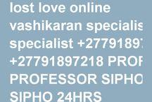lost love online vashikaran specialist +27791897218 PROFESSOR SIPHO