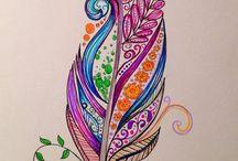 renkli çizim