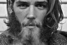 beautiful beards / by Kathy Emelander