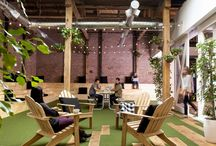 outdoor work spaces