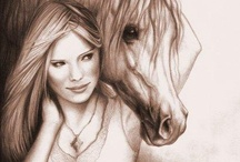 Coloring For my Amber Girl / Coloring pages just for girls / by Debbie Bailey Ray