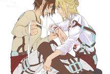 ATOT - Eren + Armin