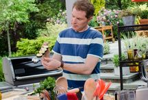 BOBBY'S BASICS - Barbecue Addiction: / Quintessential grill master Bobby Flay pulls out all the stops and delivers a one-two culinary punch, showcasing his expert grilling techniques in surprising new ways. Using abundant flavor-packed ingredients from around the world, and surrounded by a sea of grills and the grilling tools he loves most, In Bobby Flay's Barbecue Addiction, the grilling maestro steps up his game — from charcoal, to smoke, to the global Q — and proves he's truly addicted to barbecue!   / by Cecille