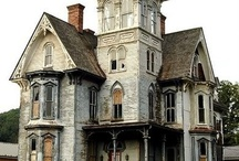 Charmosas mansões abandonadas