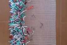 alfombras de lana en tela metálicas infantiles