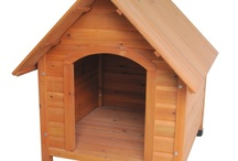 Dogs / Our Dog kennels and dog cabins are available in a  variety of different sizes and shapes to suit the type of dog you own.  Kennels tend to have an apex roof with a front entrance.  It is recommended that you place a kennel of this type in a sheltered position to prevent the wind and rain blowing into the unit.