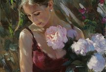 çiçekli kız