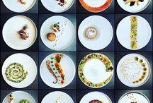 оформление тарелки