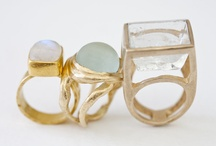 Sweet Rings / A fun selection of fabulous handcrafted rings that are all wearable art. Great options to accessorize your hand! / by Accessory Artists