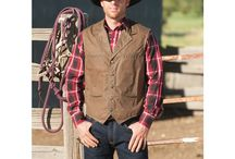Schaefer Outfitter Vests / A collection of premium Made in Texas, USA vests ranging from hearty 24 oz. melton wool to rustic stonewashed denim to weatherproof waxed cottons...all made by Schaefer Outfitter.