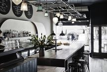 Wine bar interior