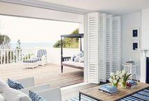 House beach decor