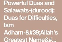 Islamic quotes and duas