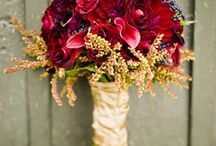 Fall Wedding Ideas / Think November, fall family and friends centered wedding with berry colored details and laughter and fun.