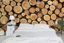 Holz Tapete: Natur pur / #Holztapeten bringen wohnliches Flair und #Natürlichkeit in den Raum. Die veilseitigen Motive lassen keine Wünsche offen. Gib deinen Raum ein ganz neues Wohngefühl und lass dich in die Oase von Mutter Natur entführen. #Enspannung garatiert! #Wald #Baum #Wellness #Natur#pur #Holz #Tapeten