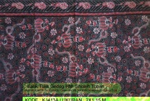 "Batik Tulis Gedog HM. Sholeh Tuban / Batik that made by writing the design to any fabric materials using ""Canting"" and ""Malam"" candle"