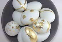 Decorative Easter Egg Patterns / Ornaments