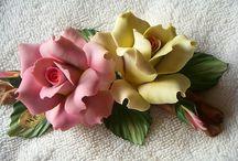 Porselen çiçek