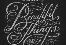 Calligraphy / by Sarah Bradfield