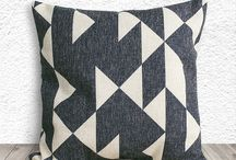 Geometric Pillows .Fab Tech