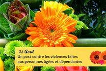 Un post contre la violence faites aux personnes agées.