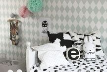 The kids mostly monochrome room ideas