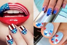 USA Independance Day 4th of July Nails | Patriotic Nails