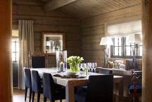 Veggpanel hytte