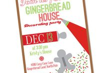 gingerbread housewarming party
