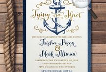 NAUTICAL - INVITATIONS