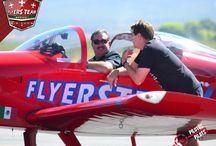 Javier A. Romo Ramsden. / Piloto originario de León Guanajuato, empresario en el ramo del calzado, su pasión por los aviones lo llevó a construir un primer avión prospecto, su ya famoso RV-6.