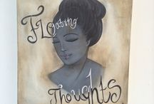 Floating thoughts / Art work that has made me stop and look...... A while