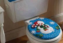 Juego baño Navidad