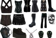 Dark side / Gothique, couleurs sombres...ici, c'est pour ceux qui font passer leurs look du côté obscur de la force \o/