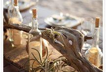 Beach/nautical wedding decor and ideas / by Kaasha Samuelson