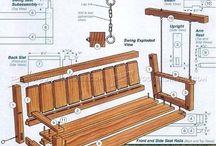 Swinging chairs