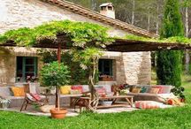 Casas de campo y terrazas