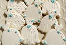 Wedding sugar cookies