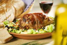 Unsere Speisen - Our Food / Eine Auswahl aus unseren leckeren Haxen - a selection of our tasty knuckles