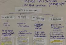 Anchor Charts for Reading / Anchor charts for teaching reading strategies. / by Buzzing with Ms. B