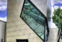 triangular facades