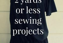 2 yards or less sewing projects