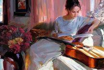 Vladimir Volegov. Women, children, books